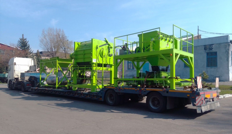 Перевозка производственных линий по Украине