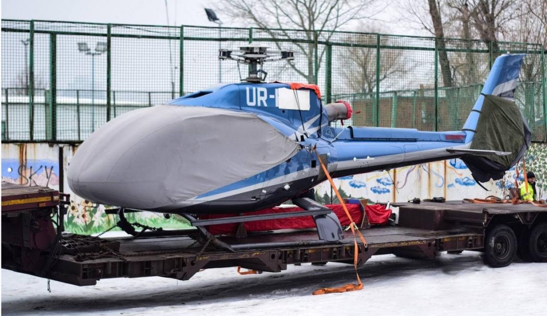Перевозка вертолета от ГК Neolit Logistics