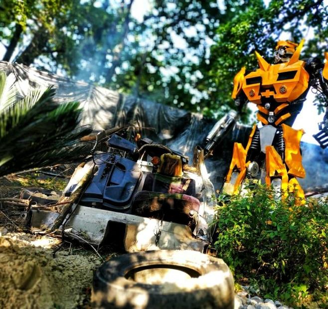 Transportation of robots from Neolit Logistics Group