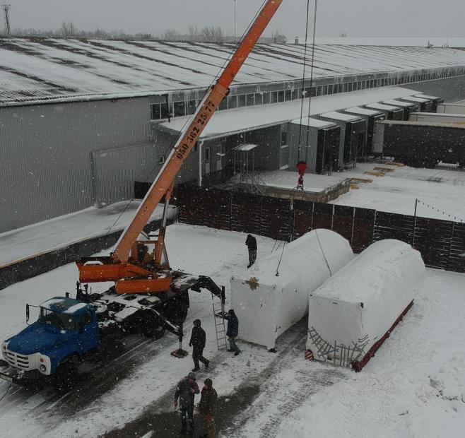 Доставка оборудования для пивзавода по маршруту Венгрия - Украина