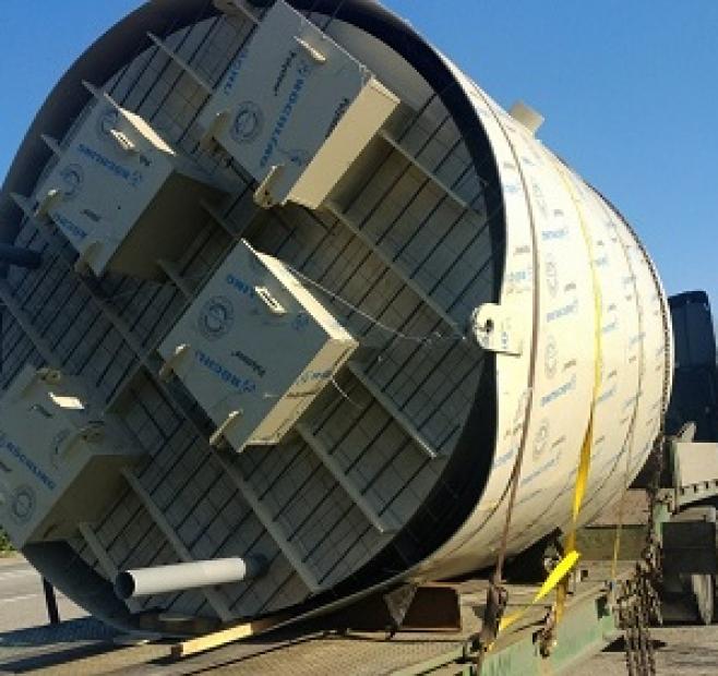 Перевозка насосной станции по Украине